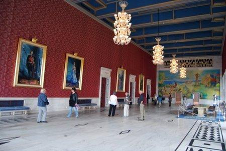 Visita al Ayuntamiento de Oslo