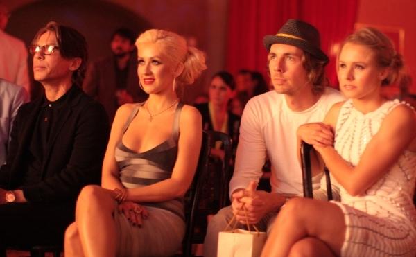 Foto de Christina Aguilera, Cam Gigandet y Kristen Bell presentan la película Burlesque  (3/5)