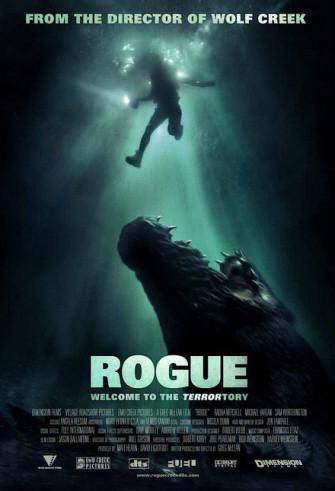 Póster y trailer de 'Rogue', una de cocodrilo gigante hambriento
