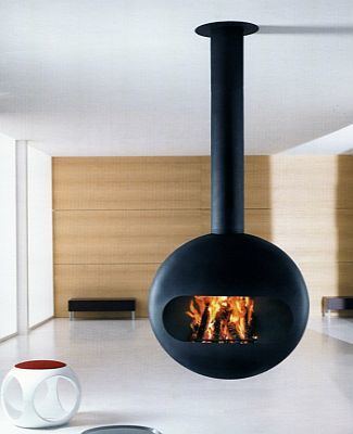 Bubble, una chimenea distinta