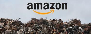 124.000 productos destruidos en una semana: así acaban los productos devueltos o no vendidos en Amazon