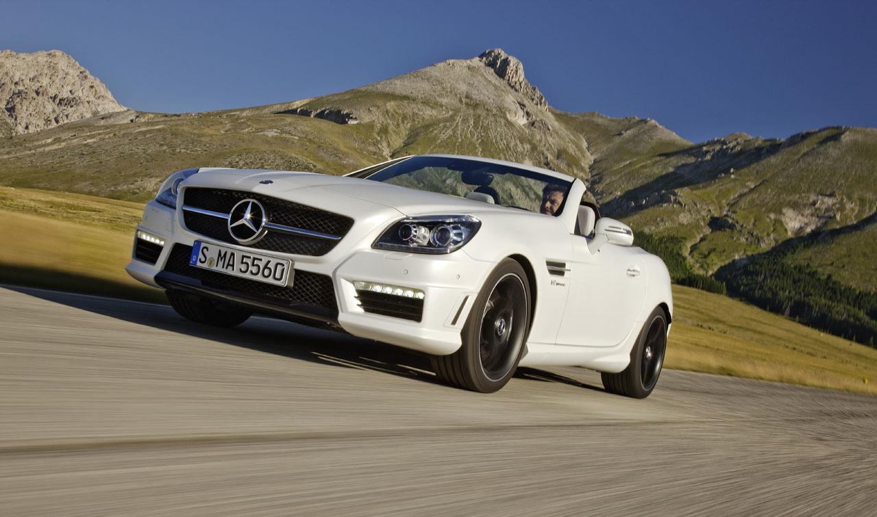 Foto de Mercedes-Benz SLK 55 AMG (6/13)