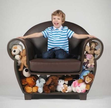 sofa peluches