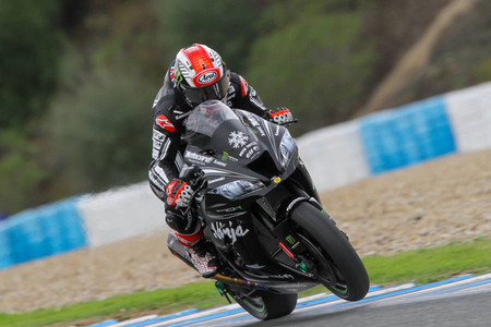 Jonathan Rea Test Jerez 2
