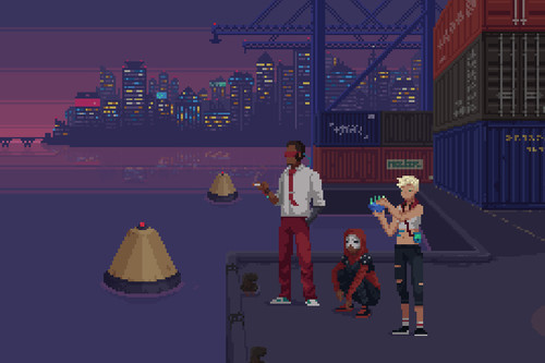 Análisis de The Red Strings Club: la revolución cyberpunk que se fraguó entre cubatas