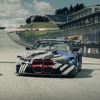 ¡Brutal! Así de contundentes lucen los riñones verticales del BMW M4 GT3, junto al nuevo BMW M4