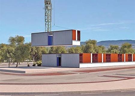 Primer hotel desmontable en España