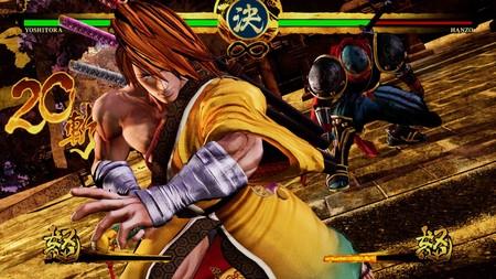Yoshitora Hanzo Samuraishodown2019 Screenshot