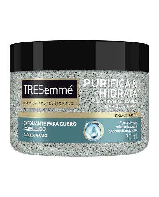 Pre-Champú Exfoliante Purifica e Hidrata Tresemmé