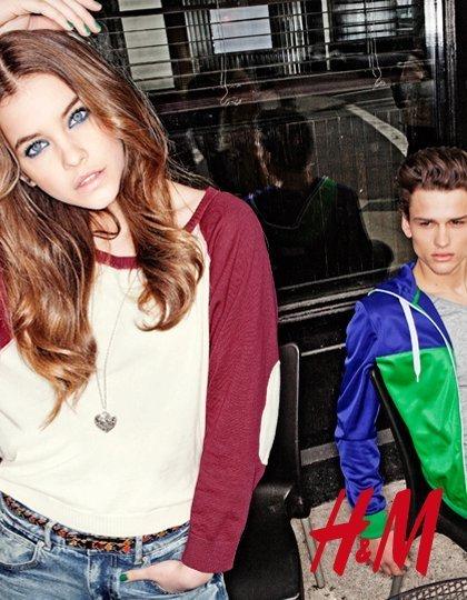 H&M divided 2011: los colores no nos abandonan en invierno