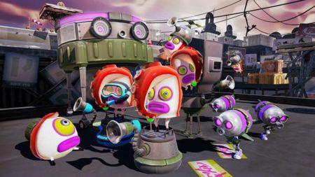 Splatoon marca su territorio en Wii U