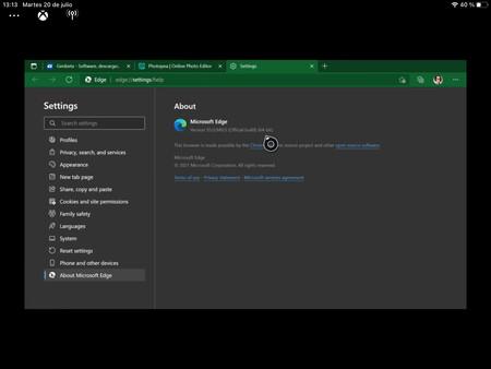 Microsoft Edge Para Xbox Series X 1