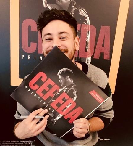 Cepeda pide a los fans que diseñen el cartel de su gira a cambio de una mención al autor en Instagram