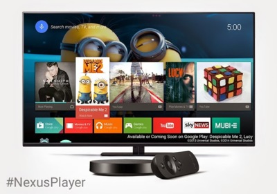 Nexus Player da el salto a Europa, aunque de momento sólo en Reino Unido