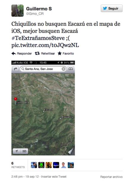 Reportando desde Escazu que Escazú no existe