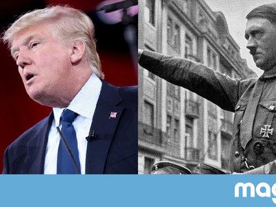 No, las elecciones que ha ganado Trump no tienen nada que ver con las que ganó Hitler