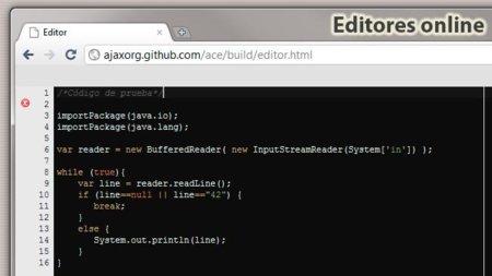 Editores de código online para programar