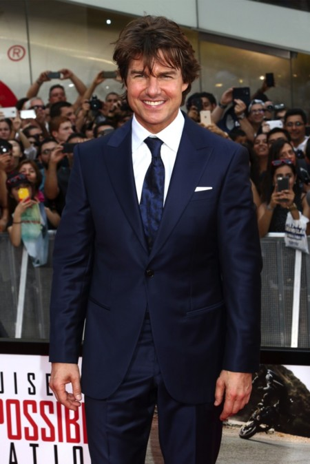 Tom Cruise, ese pelo ya no es lo que era