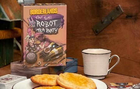 Gearbox presenta Borderlands: Tiny Tina's Robot Tea Party, el primer juego de cartas licenciado de la saga