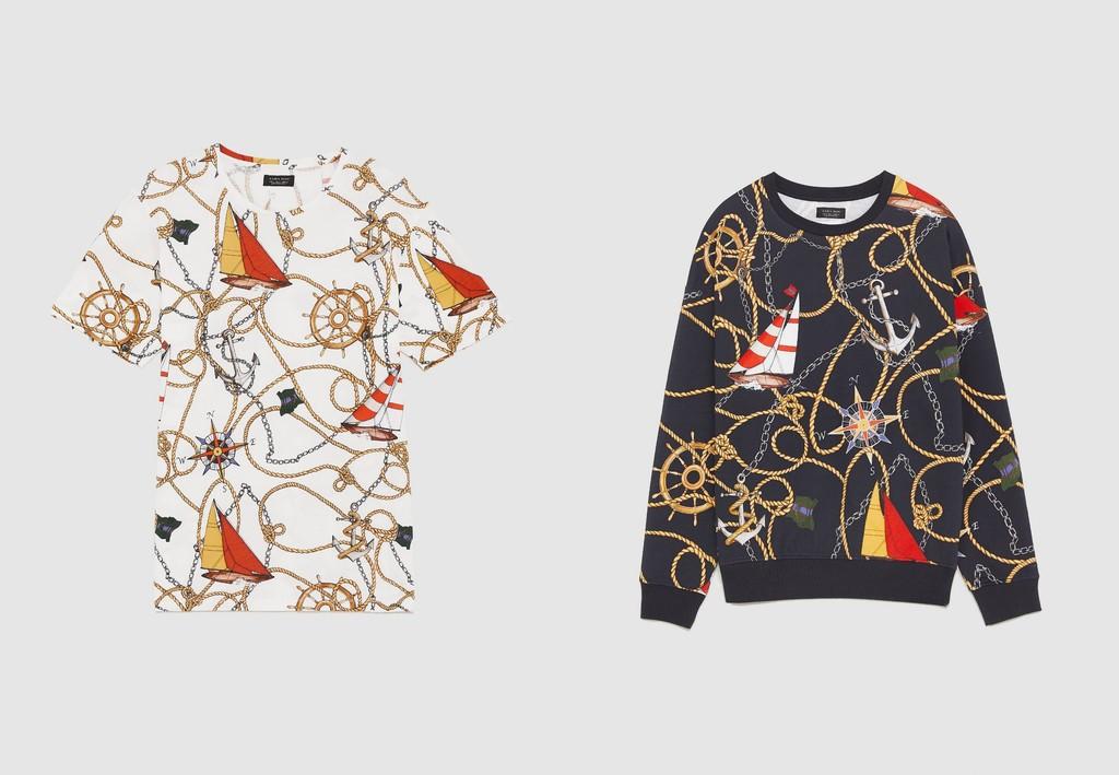 Zara Retoma El Exceso De Los Prints Noventeros En Dos Piezas Basicas Para El Verano 0