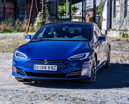 Tesla Model S 2020 frontal