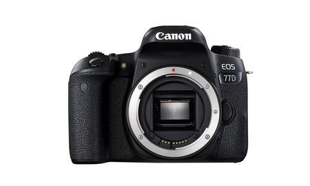 El cuerpo de la EOS 77D de Canon, en el Super Weekend de eBay, te sale por sólo 619 euros