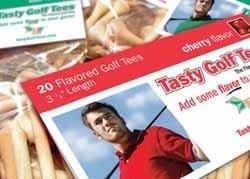 Para comerte el tee de golf