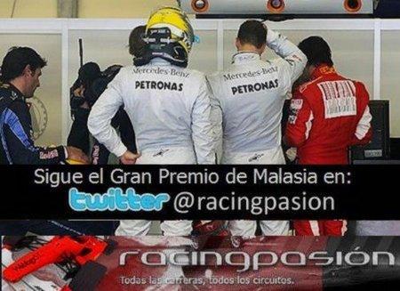 GP de China 2010: Sigue en directo la carrera a través del Twitter de Racingpasión