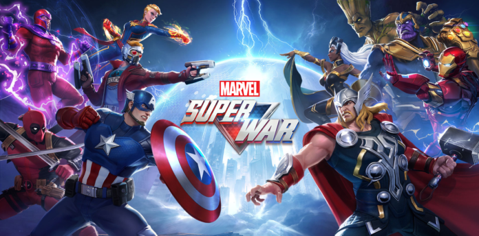 'Marvel Super War', el mas reciente MOBA de superhéroes de Marvel, viene a Google® Play en apariencia de beta cerrada