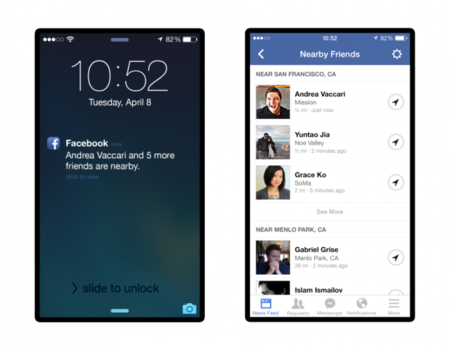 """""""Nearby Friends"""" de Facebook: comparte tu posición con tus amigos"""