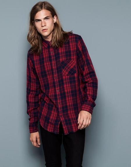 Camisas estampados hombre otoño 2014