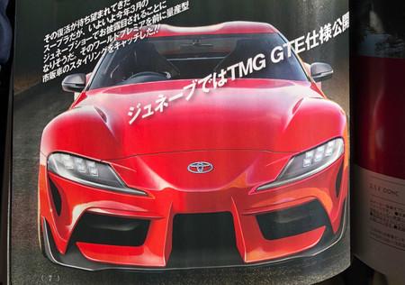 Toyota Supra 2019 imágenes filtradas