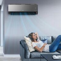 LG trae a España sus aires acondicionados Art Cool Mirror UVNano: con WiFi, ionizador y desinfección por luz ultravioleta
