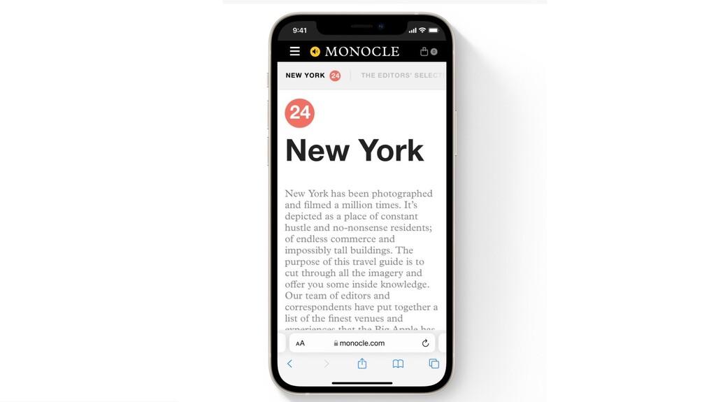 Cómo devolver la barra de Safari a su sitio original en iOS 15