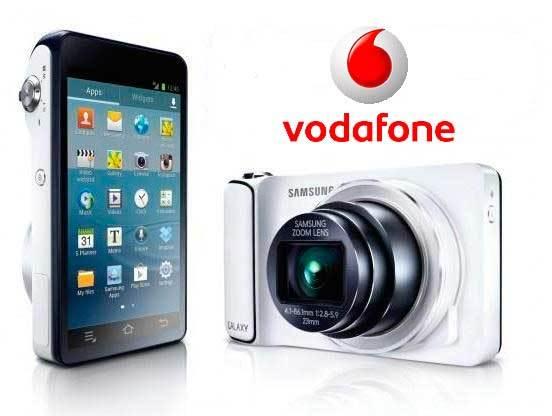 Vodafone también ofrece la Samsung Galaxy Camera, por 29 euros al mes tarifa de datos incluida
