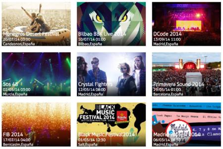 Deepler, un nuevo buscador español de festivales y conciertos que va al grano