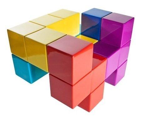 Tetris para crear tu sillón