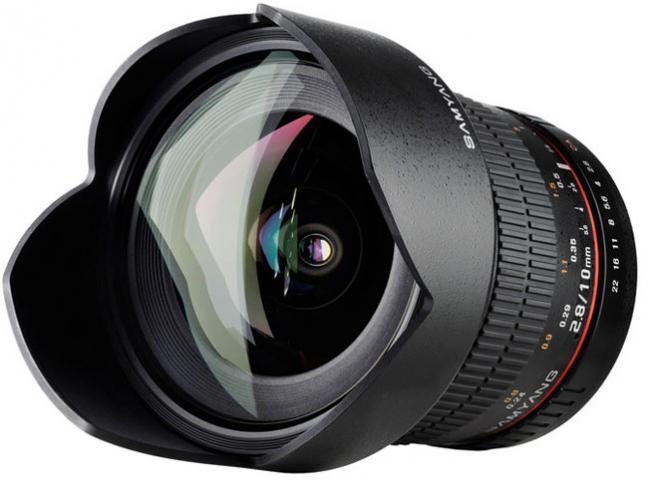 Samyang lanzará en enero su gran angular de 10 mm f/2.8 para cámaras APS-C