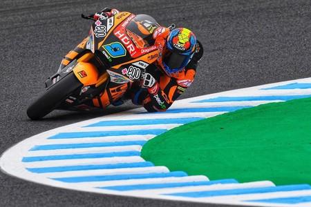 La lluvia le regala la pole position de Moto2 a Jorge Navarro en Phillip Island con Álex Márquez sexto