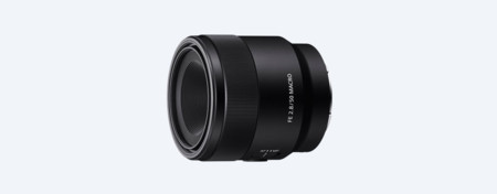 Sony lanza un nuevo objetivo macro para montura E, el Sony FE 50 mm f/2,8 Macro 1:1