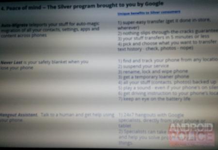 android silver google