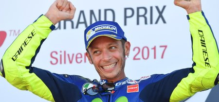 """Valentino Rossi: """"No estoy en Aragón por el campeonato, está en manos de los tres primeros"""""""