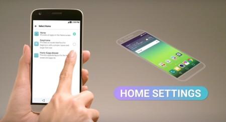 LG G5 sí tiene cajón de aplicaciones, opcional y desactivado por defecto