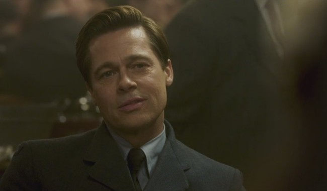 Brad Pitt en Aliados