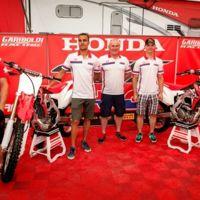 Las nuevas Honda CRF 2016 son presentadas por las estrellas de MXGP