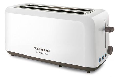 La tostadora Taurus Mytoast Duplo con ranuras extra grandes está por 27,99 euros en Amazon
