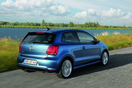 vista trasera volkswagen Polo GT bluemotion