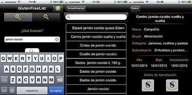 Glutenfreelist, una app para identificar alimentos libres de gluten