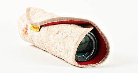 Accesorios imposibles, convierte tu objetivo en un burrito