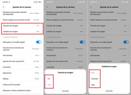 Redmi Note 7 Configuracion Camara 48 Megapixeles